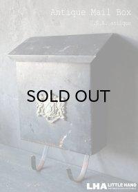 U.S.A. antique MAIL BOX アメリカアンティーク メールボックス ポスト 郵便 新聞受付 ヴィンテージ ポスト 1950-60's
