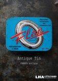 画像1: FRANCE antique フランスアンティーク VULCANISATION TIN 缶  ブリキ缶 ヴィンテージ 缶 1930-50's (1)