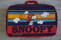 スヌーピー AVIVA スーツケース トランク レッドバロン 鍵付き