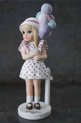 Big Eyes Balloon Girl Margaret Keane Ceramic figure