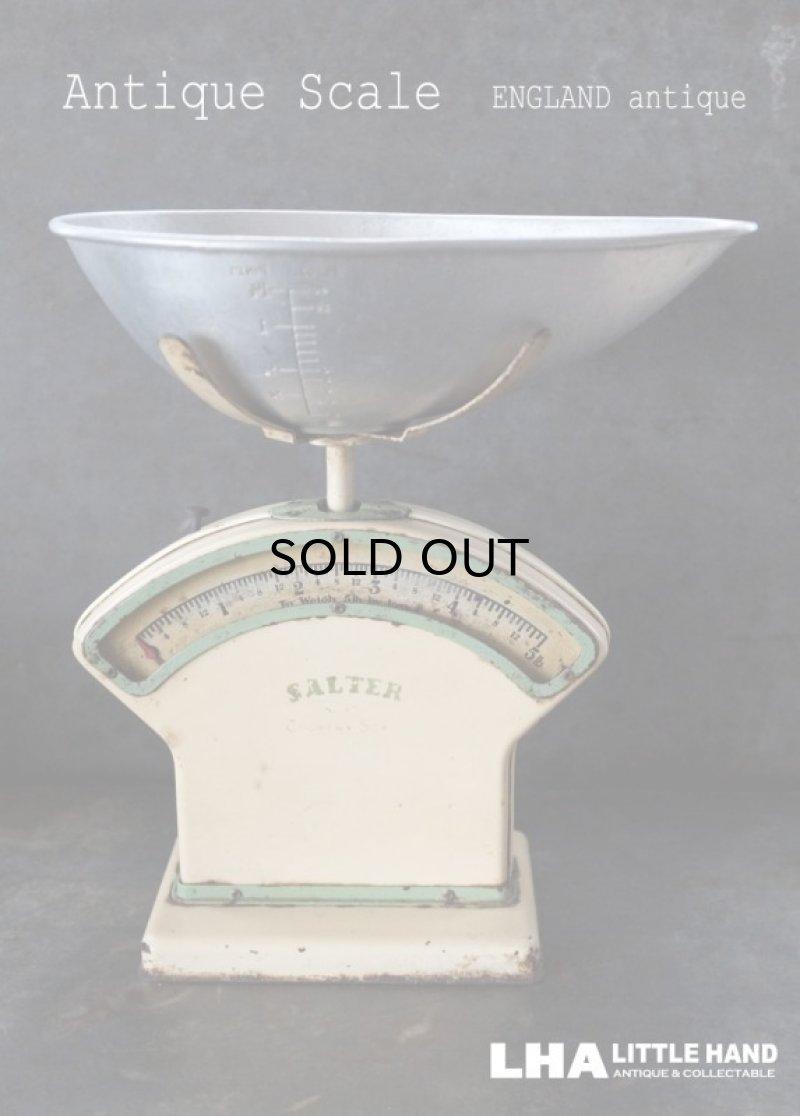 画像1: ENGLAND antique イギリスアンティーク SALTER SCALE スケールno.30 はかり 1940-50's