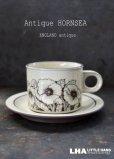 画像1: ENGLAND antique HORNSEA 【CORNROSE】イギリスアンティーク ホーンジー コーンローズ  カップ&ソーサー 1978-86's ヴィンテージ  (1)