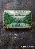 画像1: ENGLAND antique イギリスアンティーク Boots PINE TABLETS ティン缶 ブリキ缶 1920-30's (1)