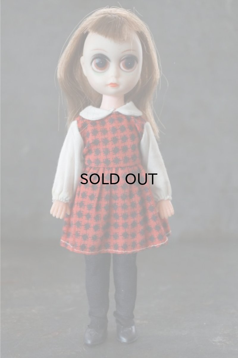 画像1: Susie Sad Eyes Margaret Keane Big Eyes Doll ブラウンヘアー 箱付き