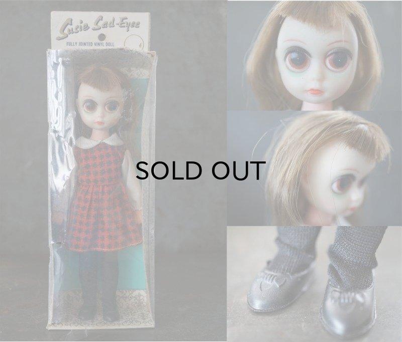 画像2: Susie Sad Eyes Margaret Keane Big Eyes Doll ブラウンヘアー 箱付き