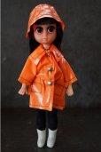 画像1: Susie Sad Eyes Margaret Keane Big Eyes Doll オレンジ (1)