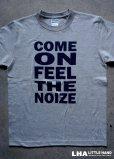 画像1: LHA 【LITTLE HAND】 ORIGINAL Tシャツ COME ON FEEL THE NOIZE (1)