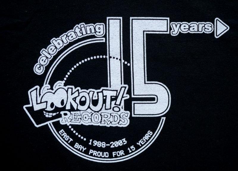 画像3: LOOKOUT RECORDS 15th Tシャツ