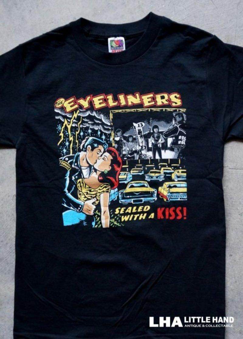 画像1: THE EYELINERS Tシャツ