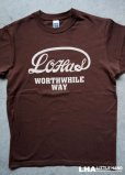 画像1: WORTHWHILE WAY Tシャツ LOHAS (1)