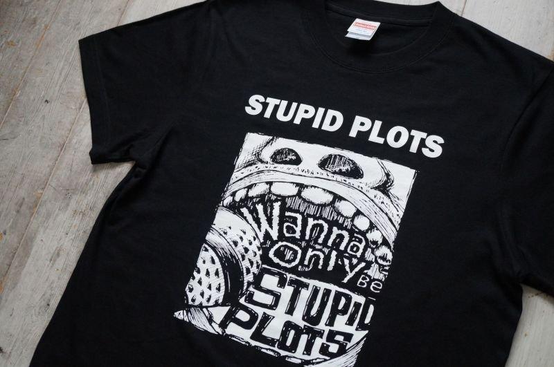 画像2: STUPID PLOTS  Tシャツ/ Discography  LHA 【LITTLE HAND】 ORIGINAL Tシャツ