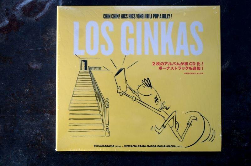 画像1: LOS GINKAS / CHIN CHIN! HICS HICS! ONGI IBILI POP A BILLY! CD