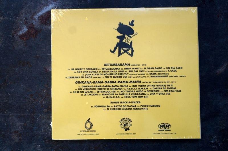 画像2: LOS GINKAS / CHIN CHIN! HICS HICS! ONGI IBILI POP A BILLY! CD