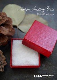 SALE 【50%OFF】 ENGLAND antique イギリスアンティーク クラフト ジュエリーケース 紙箱 ジュエリーボックス リングケース リングボックス アクセサリー 1940-60's