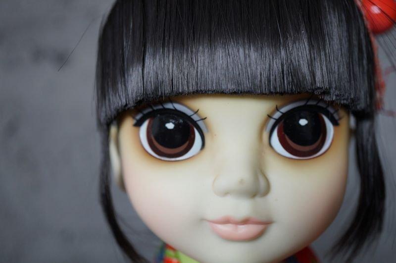 """画像4: Margaret Keane's International """" Big Eyes"""" Children Signatue Collection Doll YOKO  箱付き"""