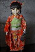 """画像1: Margaret Keane's International """" Big Eyes"""" Children Signatue Collection Doll YOKO  箱付き  (1)"""