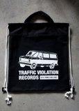 画像2: LHA ORIGINAL ナップサック リュック バッグ TRAFFIC VIOLATION RECORDS NY (2)
