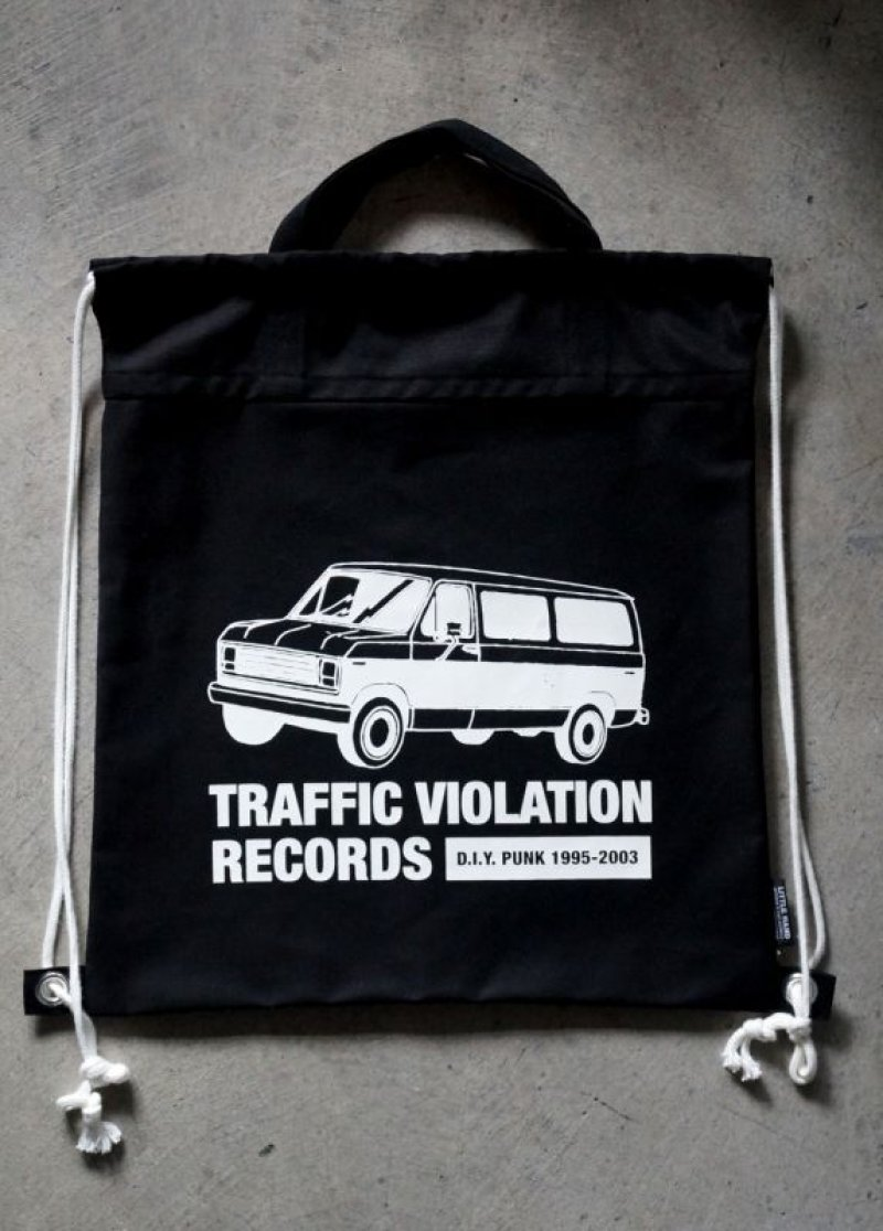 画像2: LHA ORIGINAL ナップサック リュック バッグ TRAFFIC VIOLATION RECORDS NY