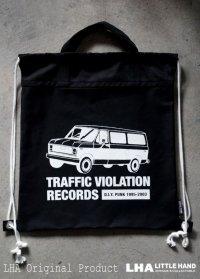 LHA ORIGINAL ナップサック リュック バッグ TRAFFIC VIOLATION RECORDS NY