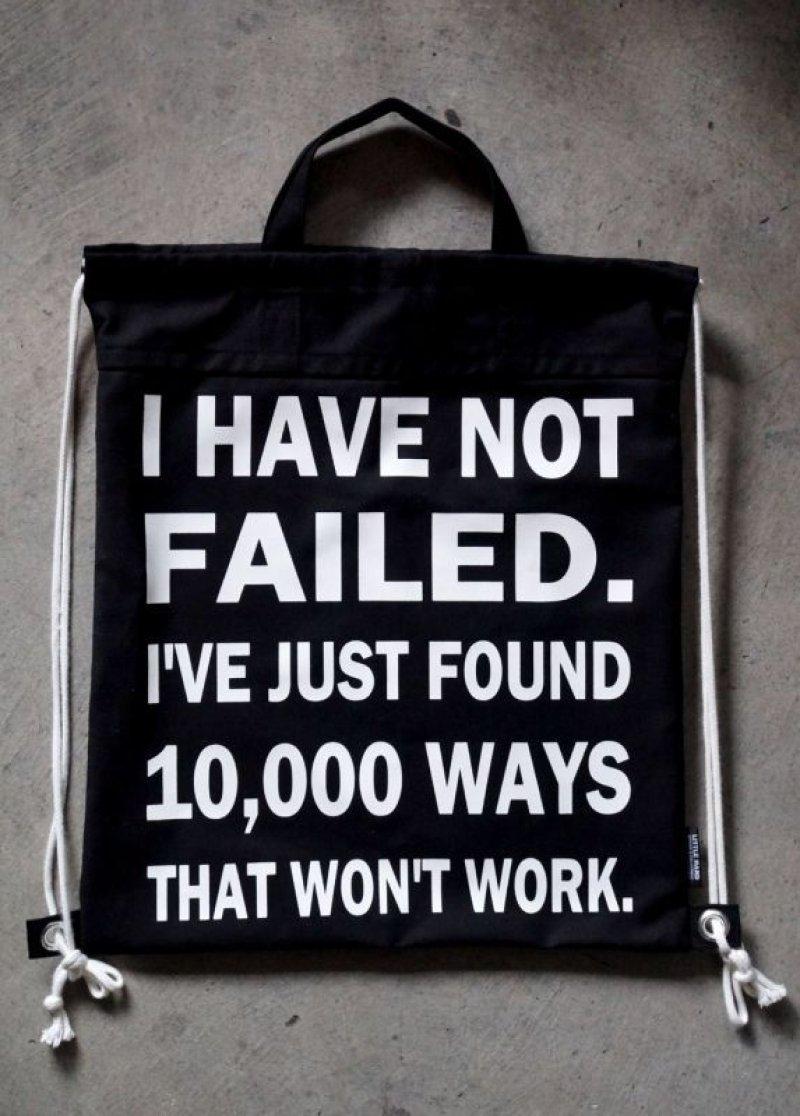 画像2: LHA ORIGINAL ナップサック リュック バッグ I have not failed