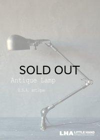 USA antique アメリカアンティーク インダストリアル デスクランプ CRAFTSMAN 工業系 壁掛け ライト 照明 ヴィンテージランプ 1940-60's