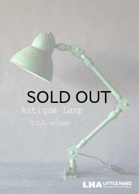 USA antique アメリカアンティーク インダストリアル デスクランプ 工業系 壁掛け ライト 照明 ヴィンテージランプ 1940-60's