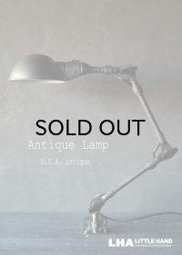 USA antique アメリカアンティーク FOSTORIA LAMP インダストリアル デスクランプ 工業系 ウォールランプ ライト 照明 ヴィンテージランプ 1970's