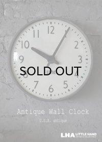 U.S.A. antique IBM wall clock アンティーク 掛け時計 ヴィンテージ スクール クロック 36cm インダストリアル 1950-60's