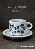 画像1: ENGLAND antique HORNSEA 【Harmony】 イギリスアンティーク ホーンジー  カップ&ソーサー C&S ヴィンテージ 1981's (1)