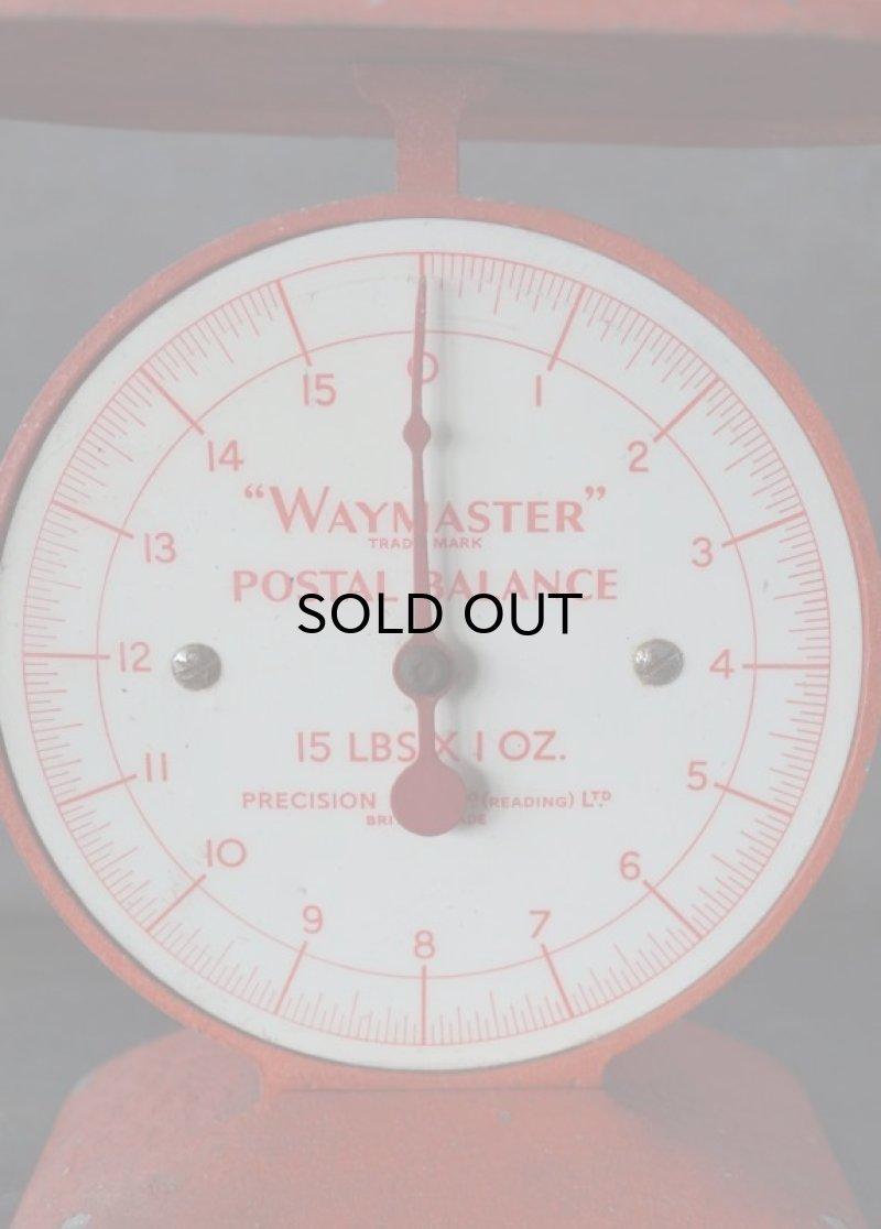 画像2: ENGLAND antique イギリスアンティーク WAYMASTER POSTAL BALANCE SCALES ポスタルバランス スケール 1957's ウェイマスター はかり
