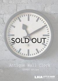 GERMANY antique Telenorma T&N [Telefonbau&Normalzeit] wall clock アンティーク 掛け時計 クロック 35.5cm 1950's インダストリアル 工業系