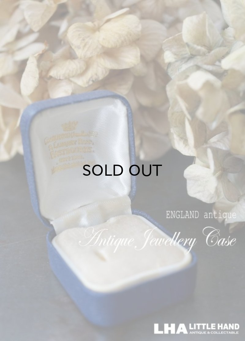 画像1: ENGLAND antique イギリスアンティーク リング ケースリングボックス ジュエリーケース ジュエリーボックス アクセサリー 1940-70's