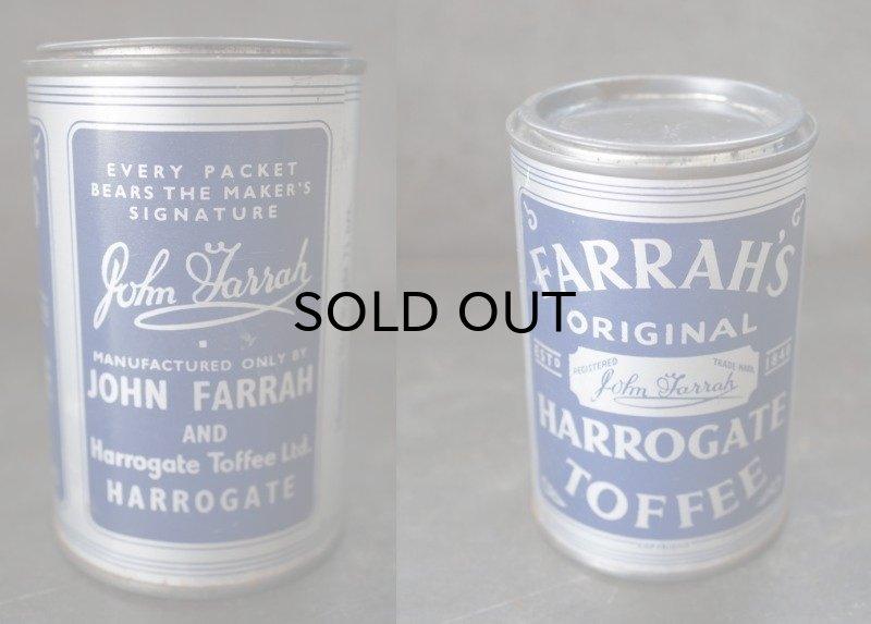 画像4: ENGLAND antique イギリスアンティーク FARRAH'S HARROGATE TOFFEE ティン缶 お菓子缶 ブリキ缶 ヴィンテージ 缶 1950-60's