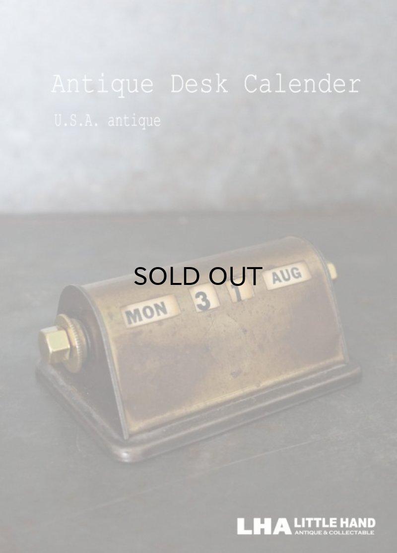 画像1: USA antique アメリカアンティーク PARK SHERMAN パークシャーマン デスクカレンダー 1940-60's 万年 ヴィンテージ カレンダー 暦