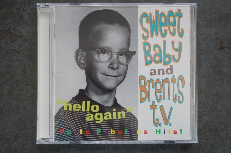 画像1: SWEET BABY / BRENETS T.V.  / Hello Again Split  CD (USED)