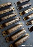 画像1: USA antique HAMILTON アメリカアンティーク ハミルトン プリンタートレイ ハンドル 取っ手 ヴィンテージ 1920-1950's (1)