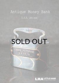 U.S.A. antique Money Bank アンティーク アドバタイジング マネーバンク 貯金箱  1900-20's