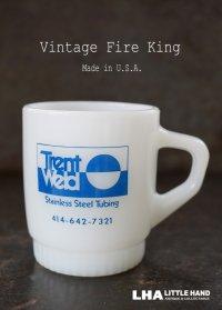 U.S.A. vintage アメリカヴィンテージ 【Fire-king】 ファイヤーキング Trent Weld マグ マグカップ ヴィンテージ 1960's