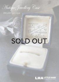 ENGLAND antique イギリスアンティーク ジュエリーケース ジュエリーボックス リングケース アクセサリー 1890-1930's