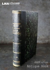 FRANCE antique BOOK フランス アンティークブック 本 古書 洋書 1882's