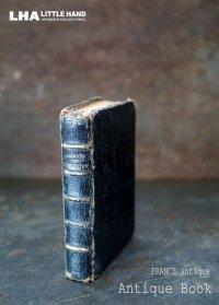 FRANCE antique フランス アンティーク ブック book とても小さな 聖書 古書 洋書 本 1900-30's