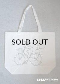 Sakura トートバッグ Bicycle