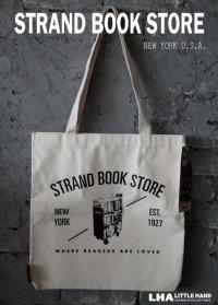 【アメリカ直輸入・日本未発売】NY【STRAND BOOK STORE】TOTE BAG ストランドブックストア トートバッグ