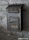 画像1: U.S.A. antique MAIL BOX アメリカアンティーク 【CORBIN】 メールボックス ポスト 鍵付き 郵便受け ヴィンテージ ポスト 1920-40's  (1)