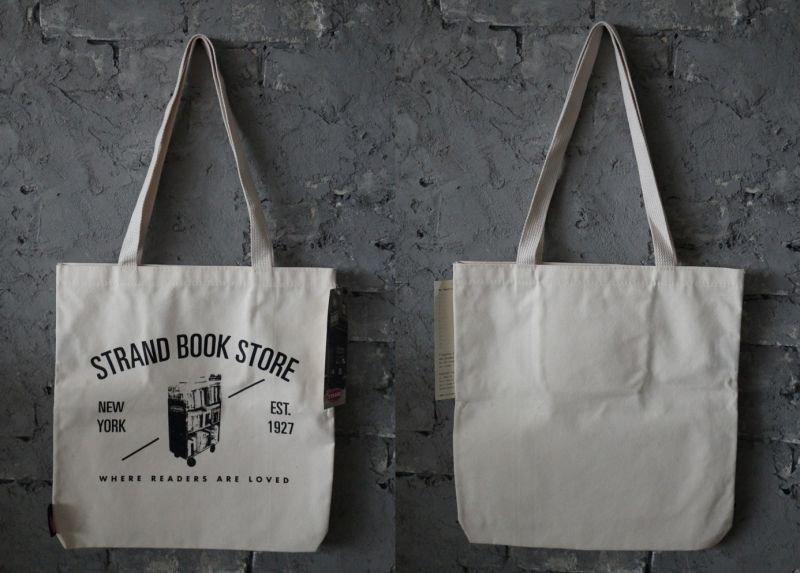 画像2: 【アメリカ直輸入・日本未発売】NY【STRAND BOOK STORE】TOTE BAG ストランドブックストア トートバッグ