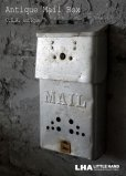 画像1: U.S.A. antique MAIL BOX アメリカアンティーク メールボックス ポスト 郵便受け ヴィンテージ ポスト 1950-60's  (1)