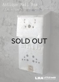U.S.A. antique MAIL BOX アメリカアンティーク メールボックス ポスト 郵便受け ヴィンテージ ポスト 1950-60's