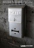画像1: U.S.A. antique MAIL BOX アメリカアンティーク  新聞受け付き メールボックス ポスト 郵便受け ヴィンテージ ポスト 1950-60's  (1)