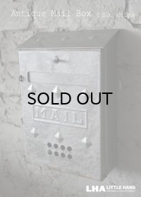 U.S.A. antique アメリカアンティーク MAIL BOX メールボックス ポスト 郵便受け 1950-60's