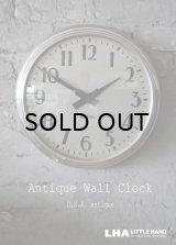 U.S.A. antique STANDARD wall clock アメリカアンティーク スタンダード 掛け時計 スクール ヴィンテージ クロック 37cm 1950's